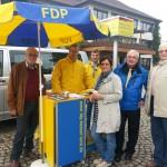 FDP1-150x150 in FDP Fuldatal unterwegs im Wahlkampf 2013