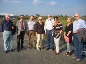 Besichtigung Gewerbe2014-300x225 in FDP-Kommunalpolitiker vor Ort: Das neue Gewerbegebiet