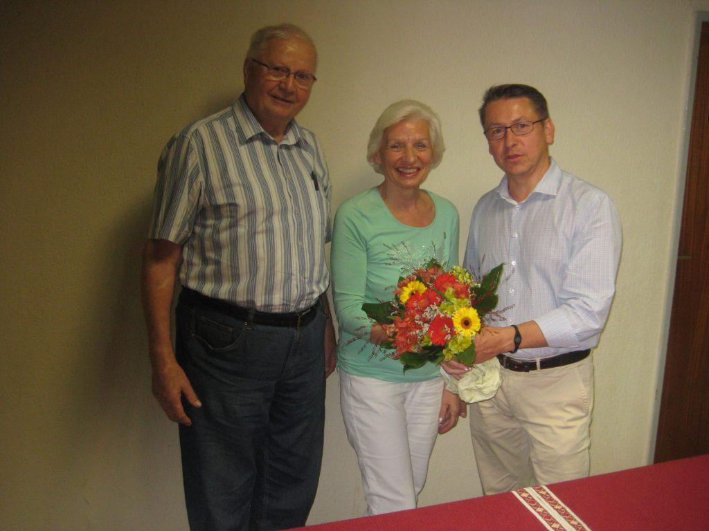 Ehrung Maritta 1-1024x768 in Fuldataler Liberale gratulierten ihrer 2. Vorsitzenden Maritta Trost.