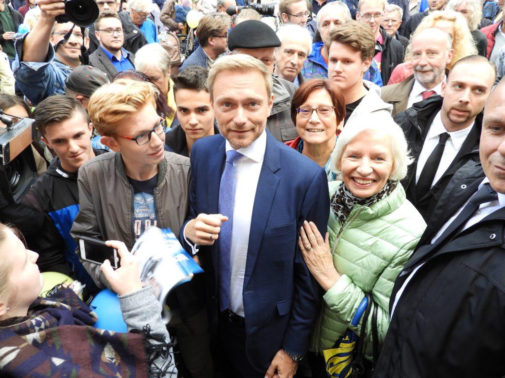 BTW2017-Linder 2-1024x768 in Höhepunkt des liberalen Wahlkampfes in der Region: Christian Lindner besuchte Kassel.